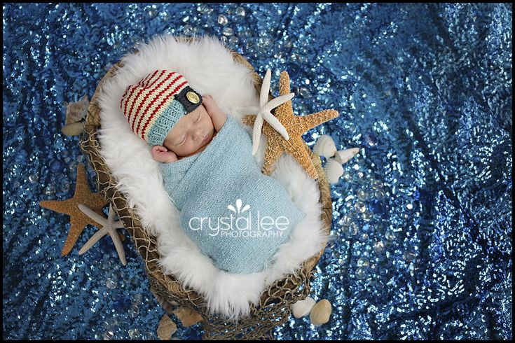 Nautical newborn photography by CrystalLeePhotography.com-this is my baby boy!