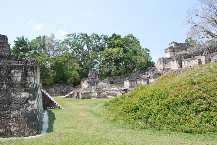 One of the many limestone buildings seen at Tikal National Park in Guatemala http://ift.tt/2AyvtzV