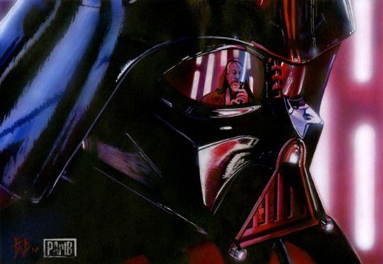 Destiny - Darth Vader Vs Obi Wan Kenobi // by Paul Butcher