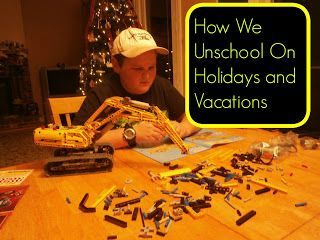 Unschooling Holiday and School vacations