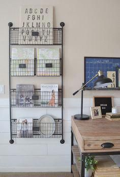 home decorating ideas small home office desk in rustic industrial rh pinterest com