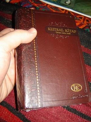 Turkish Bible / Dark Brown Cover / Kutsal Kitap