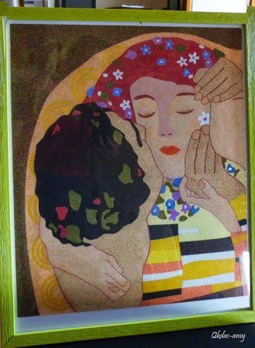 Qkdas-amy: cuadros cuadros hechos de arena