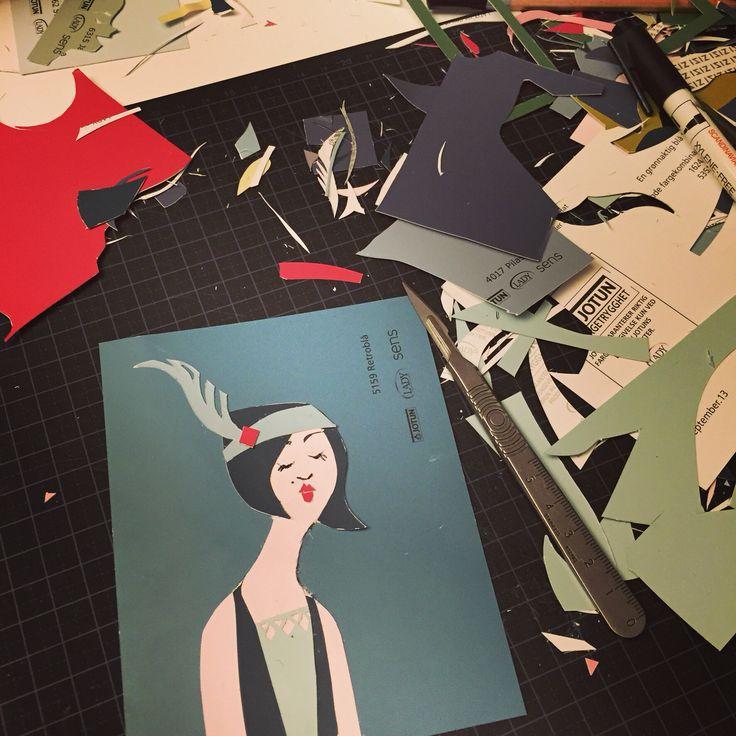 Papercutting by Ingebjorg F M
