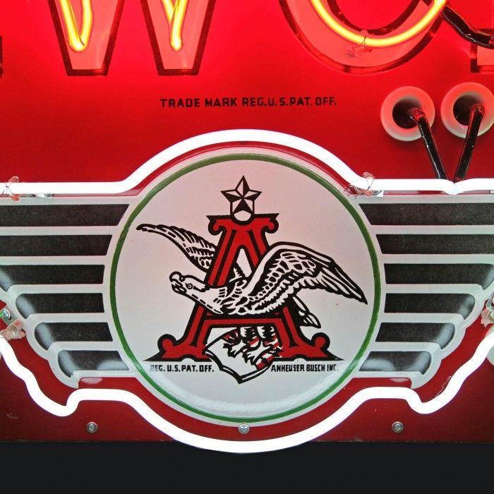 1930's Budweiser neon sign