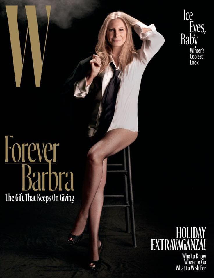 Barbra Streisand ✾ Cover of W