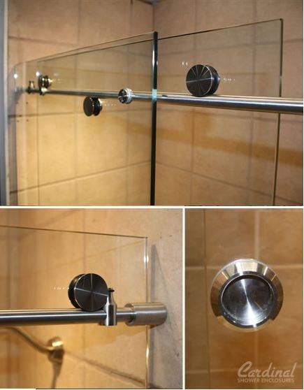 Skyline Series Frameless Shower DoorsMaster ShowerSmall