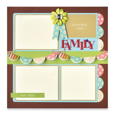 """""""Family"""" Page Layout by Fiskars®"""