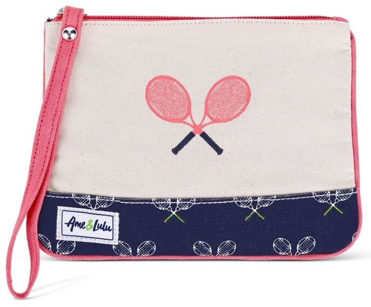 Check out what Nicole's Tennis Boutique has to offer for on and off the court! Ame & Lulu Ladies Lovers Tennis Wristlets - Match Point
