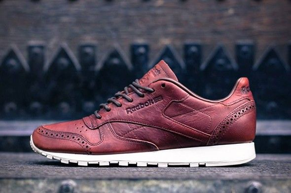 Reebok Classic Leather Lux Brogue Pack #mode #homme #baskets #reebok #classic #lux #pack #mensfashion #menswear #shoes #sneakers