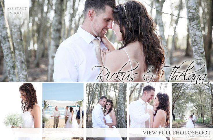 Rickus and Thelana Wedding - Adele van Zyl Photography