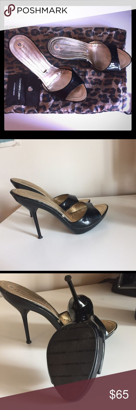 Gianmarco Lorenzi Summer  High Heels Summer classy  patent leather shoes. Very good condition. Gianmarco Lorenzi Shoes
