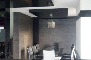 grau - weiß Salon