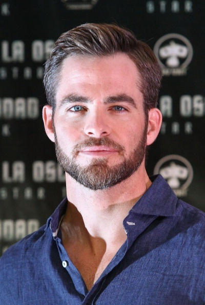 Chris Pine - Mexico photocall