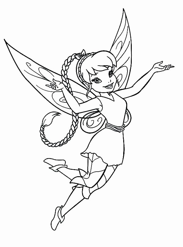 Kids Tinkerbell Fairy Coloring Pages Fairy Coloring Pages Tinkerbell Coloring Pages Fairy Coloring
