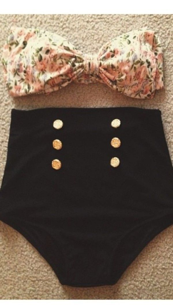 when im ready for a 2 piece but in that after baby transition...super cute!!!