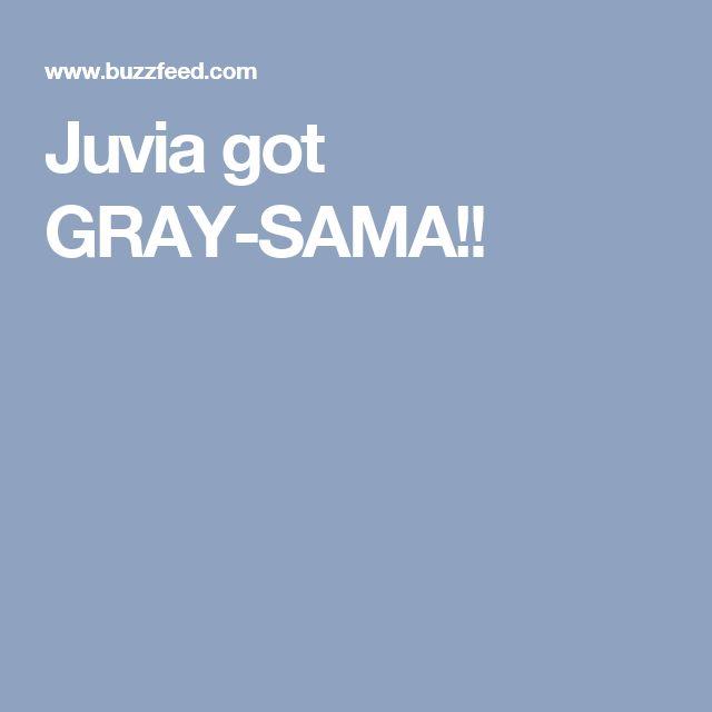 Juvia got GRAY-SAMA!! You do this quiz too!