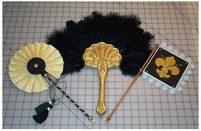 Recreating 16th and 17th Century Clothing: The Renaissance Tailor    Tutorial on making decadent fans