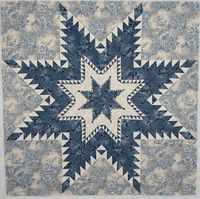 Marsha McCloskey feathered star quilt block pattern