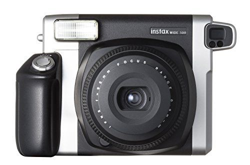 Fujifilm Instax Wide 300 Instant Film Camera (Black) Fuji