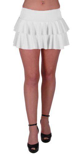 EyeCatchClothing - Amber Neon Ruffle Short Club Party Slinky Skirt White M/L Eye Catch http://www.amazon.co.uk/dp/B002KQEZ0I/ref=cm_sw_r_pi_dp_qA9axb1TH1K3M