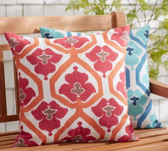 Outdoor Natalie Print Pillow | Pottery Barn