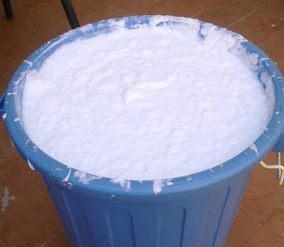 M s de 1000 ideas sobre jabon casero para lavadora en - Como hacer plastico liquido ...