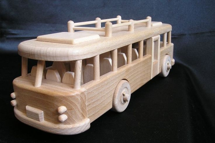 Bus ŠKODA. 39,99 € Natural handmade wooden toys Czech production. Lacquered natural wax, Safe children. www.soly-toys.com