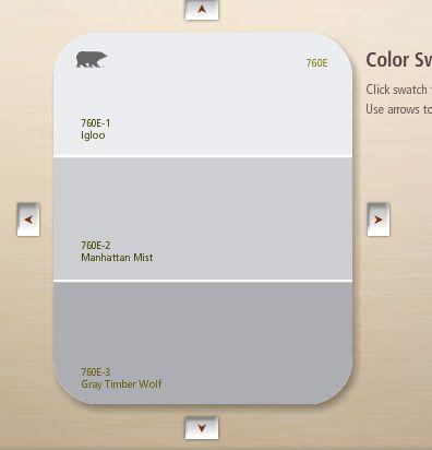 Color manhattan gray bathrooms manhattan mist behr behr paint