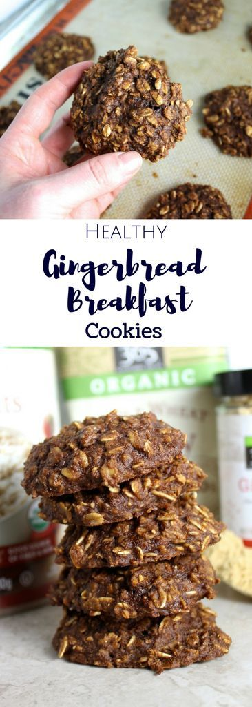Looking for a nutritious, on-the-go breakfast option? These Healthy Gingerbread Breakfast Cookies taste like dessert but are secretly good for you! This post is sponsored by my friends at Whole Foods Market, but all opinions are my own.