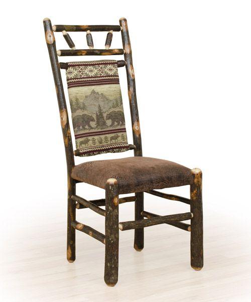 Log Dining Room Tables: 17 Best Images About Hickory Log Furniture On Pinterest