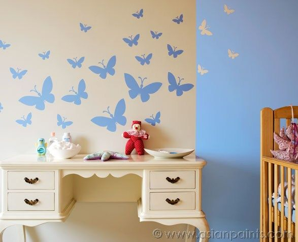 41 best kids 39 room inspirations images on pinterest child room room kids and asian paints - Catalog of wall design for bedroom ...