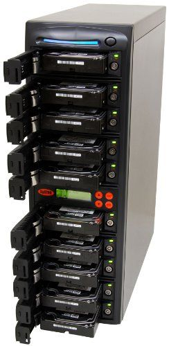 SySTOR 1:9 SATA Hard Disk Drive / Solid State Drive (HDD/SSD) Clone Duplicator/Sanitizer (SYS109HS)