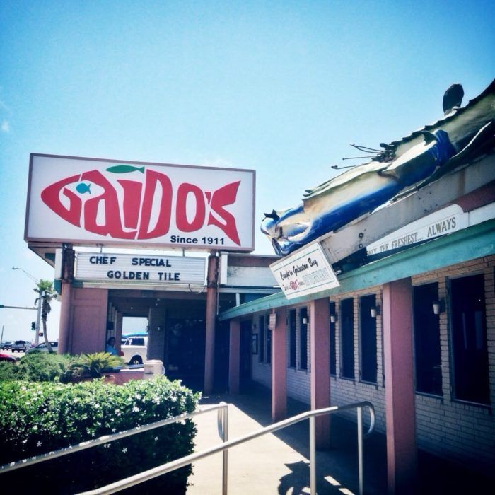 10. Gaido's (Galveston)