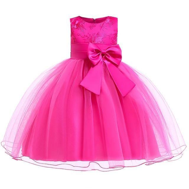 Flower Girl Dress Summer Princess Tutu Wedding Birthday Party Children/'s Costume