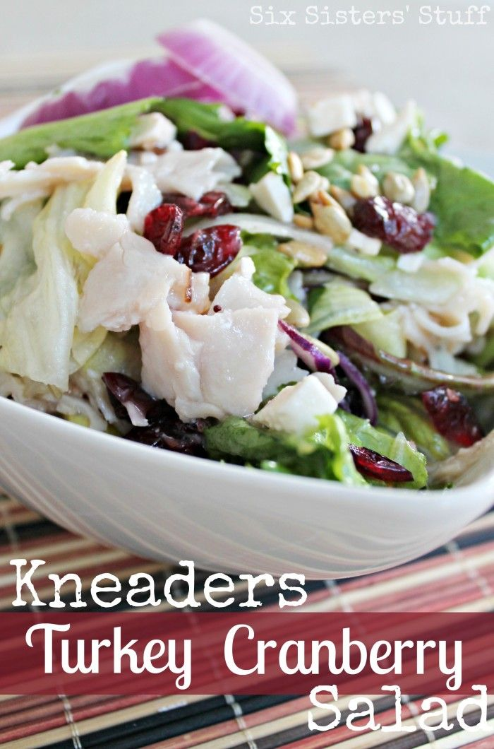Kneaders Turkey Cranberry Salad