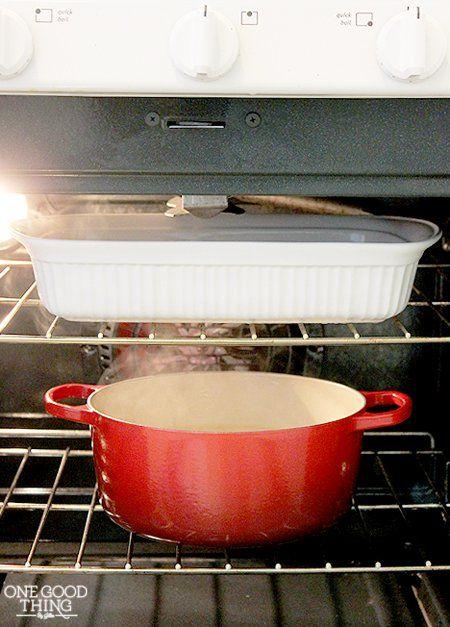 Heb jij een vieze oven? Maak het gemakkelijk schoon met deze schoonmaak tip!