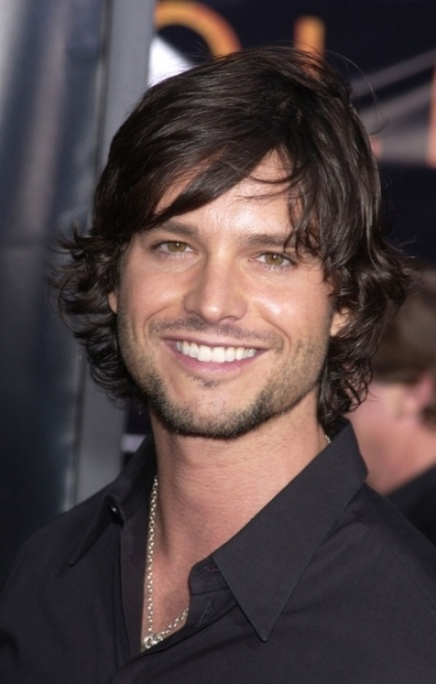 Jason Behr from Skinwalkers...sexiest smile ever.  My crush