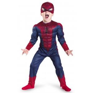 Disfraz de Amazing Spiderman Movie musculoso niño: comprar online en Funidelia