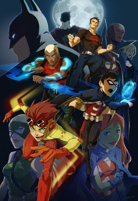 +dick grayson and conner | Young Justice Superhero Animated Anime Manga | Young Justice: Invasion ...
