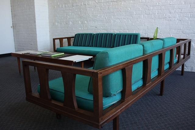 Turquoise MCM Sofa <3