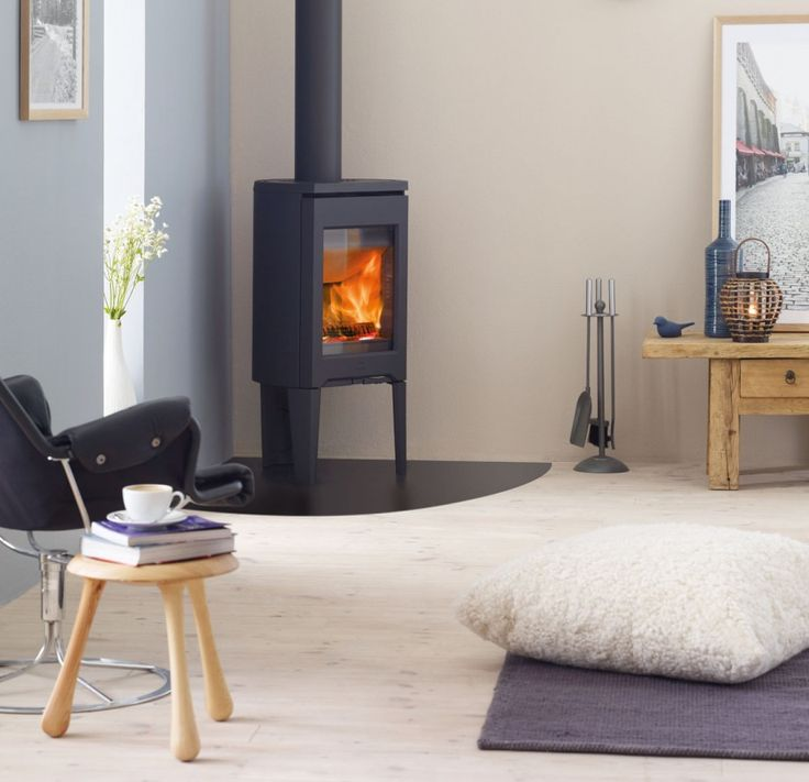 Corner Wood Burning Stove Functional And Interior: 15+ Best Ideas About Contemporary Wood Burning Stoves On