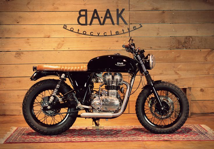 A Royal Enfield Continental GT to start on two wheels - BAAK