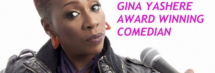 Home page of Gina Yashere, a comedian from London. UK. Gina Yashere is an award…