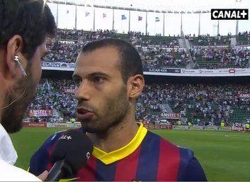"""Mascherano: """"Para algunos, el del Atleti será el último partido en el Barça"""""""