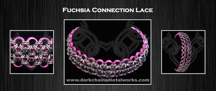 Fuchsia Connection Lace