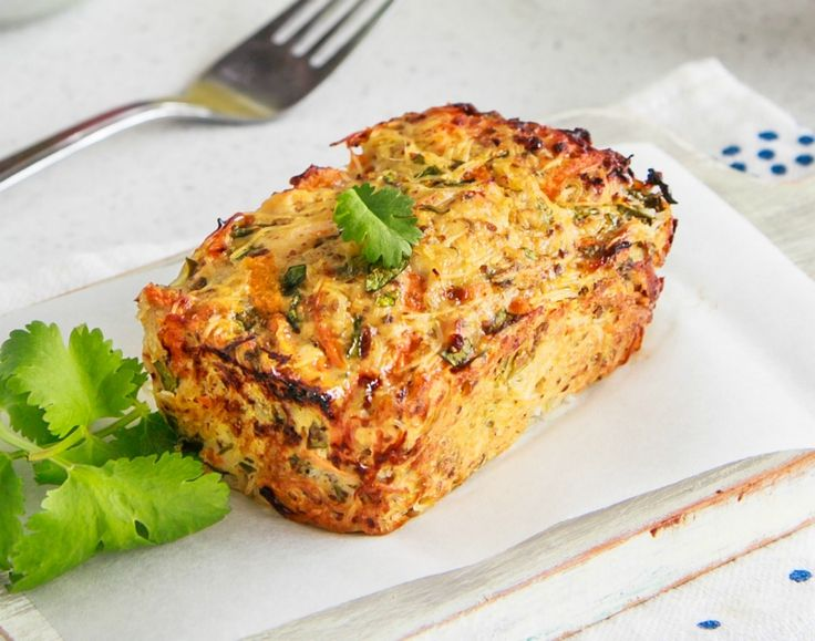 Tasty Thai Chicken Meatloaf