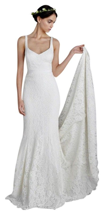 455 best wedding gown dress images on pinterest wedding frocks ivory 77 cotton 23 nylon combo 68 cotton 23 silk lining polyester janey lace gown womens sleeveless bridal wedding dress junglespirit Gallery