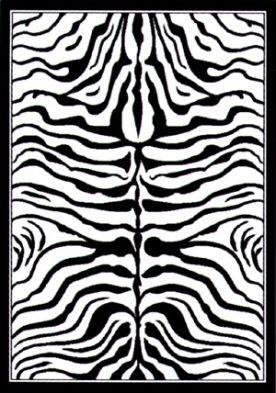 Contemporary Zebra Print