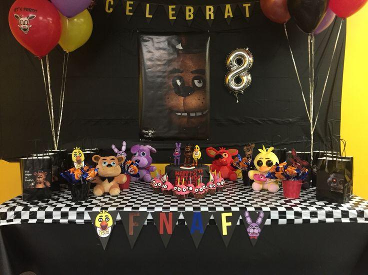 FNAF ( Five Nights At Freddys ) Theme Birthday Decor. I